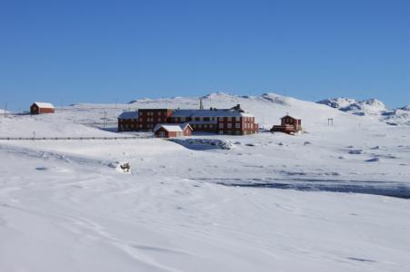 Högfjällsåkning i Norge