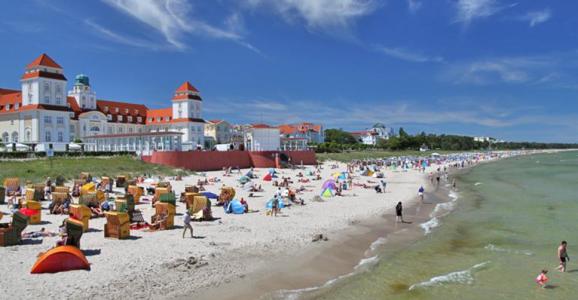 Fantastiska Binz på semesterön Rügen